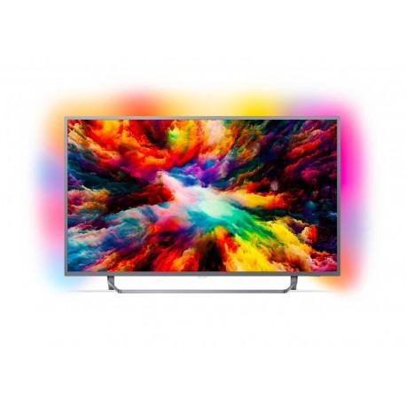 "ANDROID TV AMBILIGHT DA 139 CM (55"") LED UHD 4K ULTRASOTTILE"